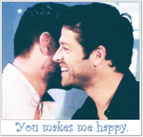You makes me happy - Jensen/Misha - Cockles - by BeccaMalory