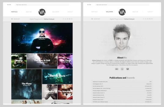 Visio Art - Portfolio Relaunch by visio-art