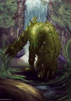 Jungle Monster by cha4os