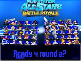 PlayStation All Stars Round 2 cheat code entered by kolrick