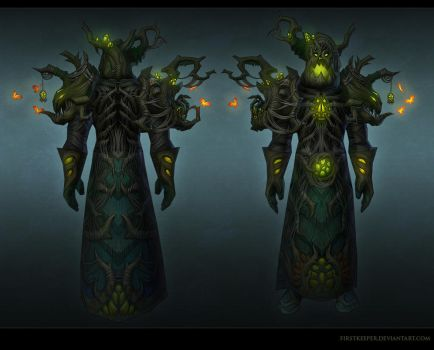 Druid set Haunted Forest by FirstKeeper