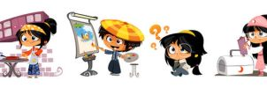 kids character by nehal1