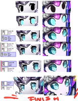 Pixel Eyes Step By Step Tutorial by No-pe