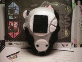 Black Digivice Plush by stevoluvmunchkin