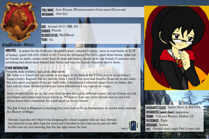 My Hogwarts Character Sheet by GamerGirl14