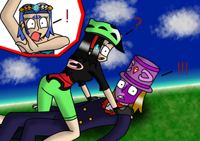 unusual things with Tri and his bike 4 by Trifong