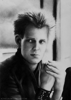 Paul Simonon by Achacja