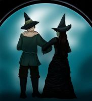 We can never go back to Oz... by elphaba-vs-glinda