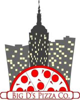 NEW Big D Pizza logo by marcometer