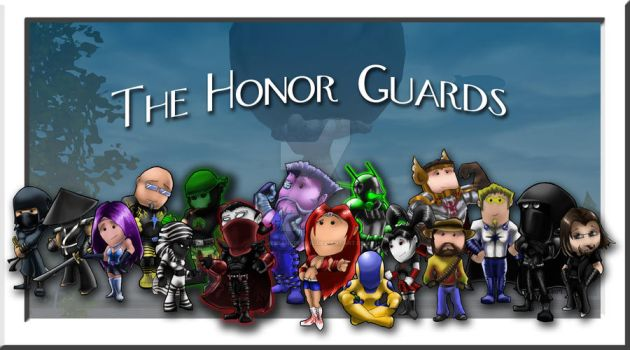 The Honor Guards by jessandpencil