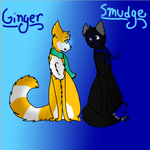Ginger And Smudge by Belminx