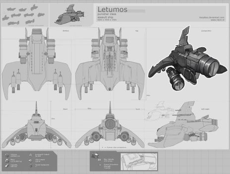 Letumos - Assault ship by korpikaz