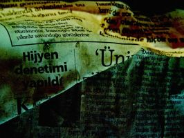 Newspaper texture by kadox