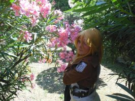 Christa Renz - I'm waiting you.. Ymir. by mory-chan