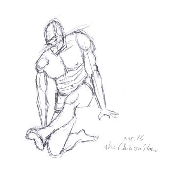 Man Sketch by TheChiassoStone