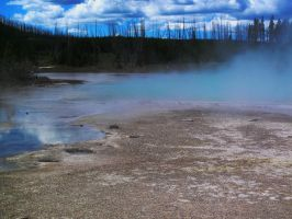 Hotsprings #13 by KRHPhotography