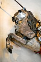 Armored horse head 2 by ApteryxStock