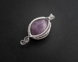 Amethyst Pendant by diana-irimie