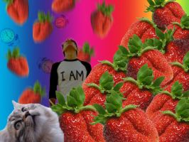 Strawberry Avalanche by katie365