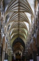 Lincoln Cathedral 1 - Stock by OghamMoon