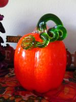 New glass pumpkin by Sorath-Rising