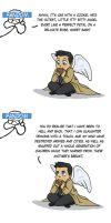 SPN - Itty, bitty Cas, the killing machine by LamechO