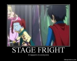 Stage Fright by HobaBanana