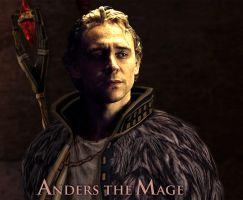Tom Hiddleston: aka Anders DA2 by Clarice04