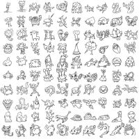 100 sketch fakemons 2 by k-hots