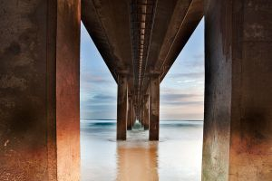 Under the Pier by Arty-eyes