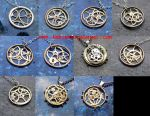 Watch Parts and Balance Wheels Necklaces, Sept 14 by AMechanicalMind
