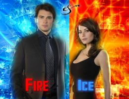 Clark and Lois - Fire and Ice by RoseHathaway24