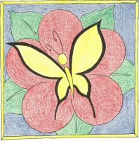 Butterfly Tile Design by Illevas001