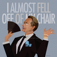 I almost fell off of my chair by dezignjk