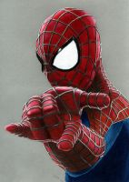 Colored Pencil Drawing: The Amazing Spider-Man 2 by JasminaSusak