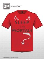 Sleep is for Mortals by thebarnestwins