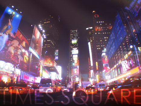 Times Square ! by VeeBR