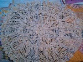 crochet doily 6 by animemama-100
