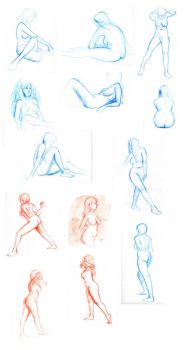 Figure drawings 10 11 11 by sarsel