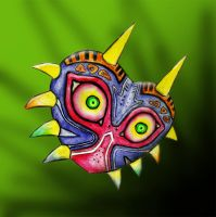 Zelda - Majora's Mask by thepomjuice