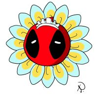 blooming deadpool by Rcaptain