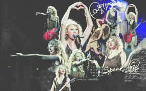 20110319 Taylor Swift Wallpape by EdwardHuaBin
