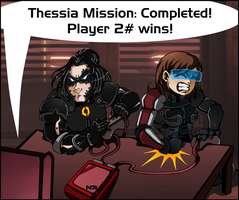 ME3: Thessia Mission by Padzi