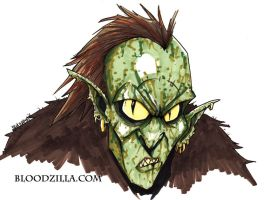 Orc Marker Sketch by Bloodzilla-Billy