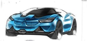 Bmw Concept Sketch by FCD94