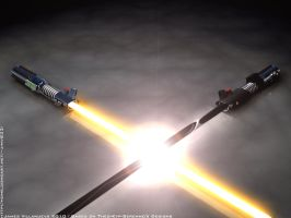 My Lightsabers 3D by RisiaVyle by Theo-Kyp-Serenno