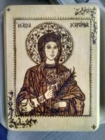St. Kyranna icon by pana-yiota