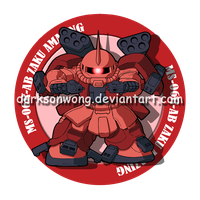 MS-06R-AB Zaku Amazing by darksonwong