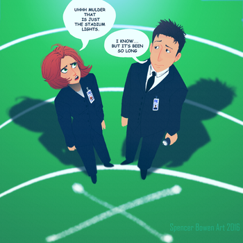 X-FILES TONIGHT! by Spencer-Bowen