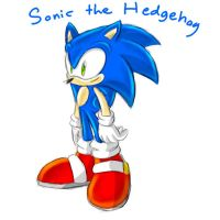 Sonic the Hedgehog by GirGrunny